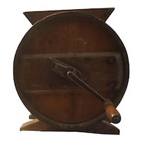 Antique RCW wooden butter churn