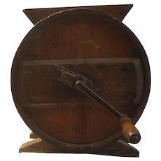 Antique RCW wooden butter churn