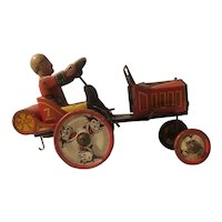 Marx's tin litho wind up whoopie car