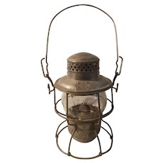 Chicago Northwestern railroad lantern