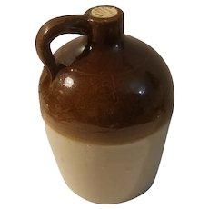5 1/2 Inch 2 tone Macomb Pottery jug