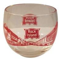 Rock Island highball glass