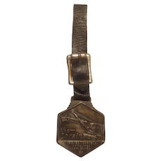 Thew Lorain Crane Co. Watch fob