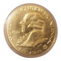 First Continental congress bicentennial medal
