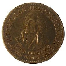 Thomas Jefferson bronze commemorative medal