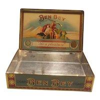 Ben Bey Cigars tobacco tin