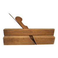 Wood molding plane unsigned