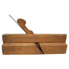 Wood molding plane unsigned