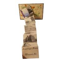 Minonk Illinois souvenir postcard