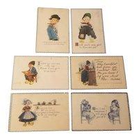 Dutch themed postcards