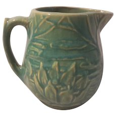 Early McCoy water Lilly pattern cream pitcher