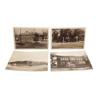 Real photo postcards of Havana Illinois in the 40's to 50's