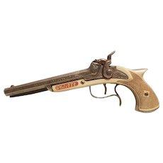Hubley pirate double barrel cap gun
