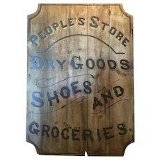 19th c Trade Sign