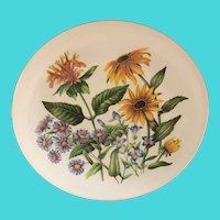 "Avon 9"" Collectors Plate - Wild Flowers of the Eastern United States"