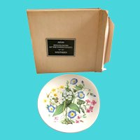 Vintage Avon Floral Collectors Plate - Wild Flowers of the Southern United States