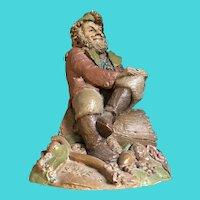 "Tom Clark Gnome ""HYKE II"" 1986 Figure CAIRN STUDIO Woodspirit Sculpture"