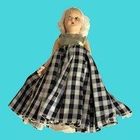 "Vintage FLAWED Princess Anna 6"" Composite Doll"