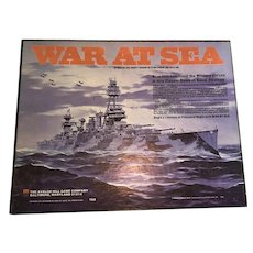 Avalon Hill 1976 War At sea Vintage Strategy Game
