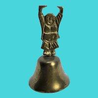 Vintage Brass Buddha Bell