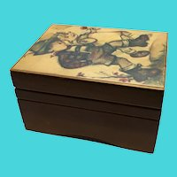 Acsons Import Co. Hummel Small Wooden Music Box Made in Japan