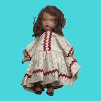 Nancy Ann Vintage Painted Bisque Story Book Doll