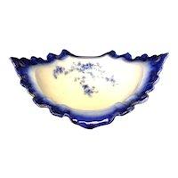 """13 1/4"""" Labelle Flow Blue Bowl"""
