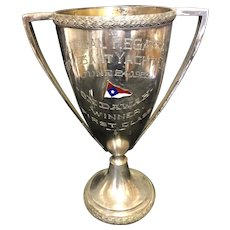 "8 7/8"" 1923 Stuyvesant Yacht Club Loving Cup Trophy Bronx NY"