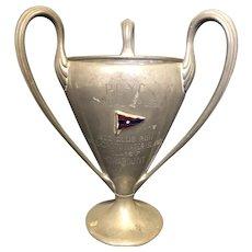 """6 1/8"""" 1902 PCYC Yacht Club Cup Trophy"""