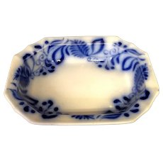 Flow Blue Brushstroke Bowl