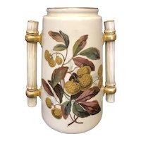 """8 1/4"""" Royal Worcester Vase"""