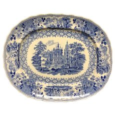 "15 1/4"" Staffordshire Platter"