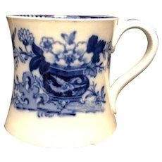 Floral Flow Blue Mug