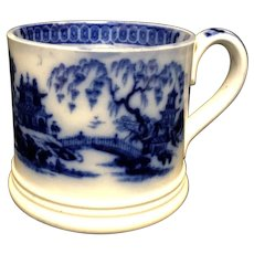Asian Flow Blue Mug