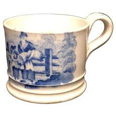 Rare Child's Staffordshire Mug