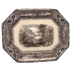 """17 3/4"""" Mulberry Vincennes Platter"""