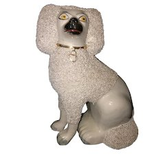 """9 1/2"""" Staffordshire Spaniel Dog"""