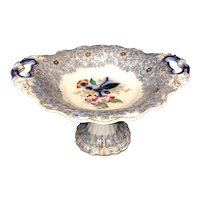 Mulberry Polychrome Compote