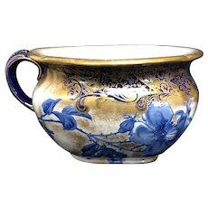 Doulton Flow Blue Chamber Pot