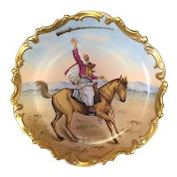 """12 1/4"""" Limoges Arabic Charger"""