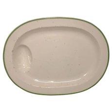 """18 1/4"""" Wedgwood Creamware Well & Tree Platter"""
