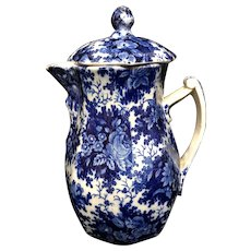 Flow Blue Chocolate Pot