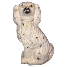 "15"" Staffordshire spaniel dog"