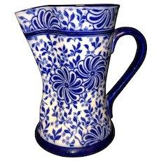 Doulton flow blue pitcher