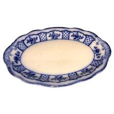 """16 1/4"""" Melbourne Flow Blue Platter"""