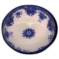 Flow Blue Pedestal Bowl