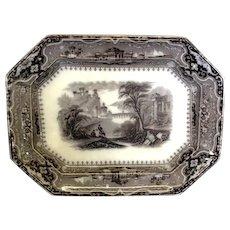 """13 1/2"""" Vincennes Mulberry Platter"""