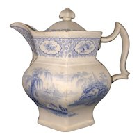 """7 1/2"""" Tyrol Staffordshire Covered Pitcher"""