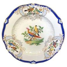 """9 3/8"""" Meissen Bird Plate"""