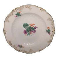 "9 5/8"" Meissen Floral Plate"